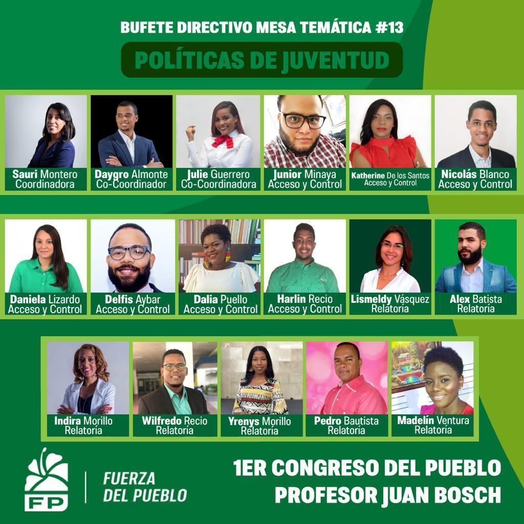 Leonel Fernández aspira a que más de 500 mil jóvenes  formen parte de la FP y aporten sus ideas para el diseño de nuevas políticas