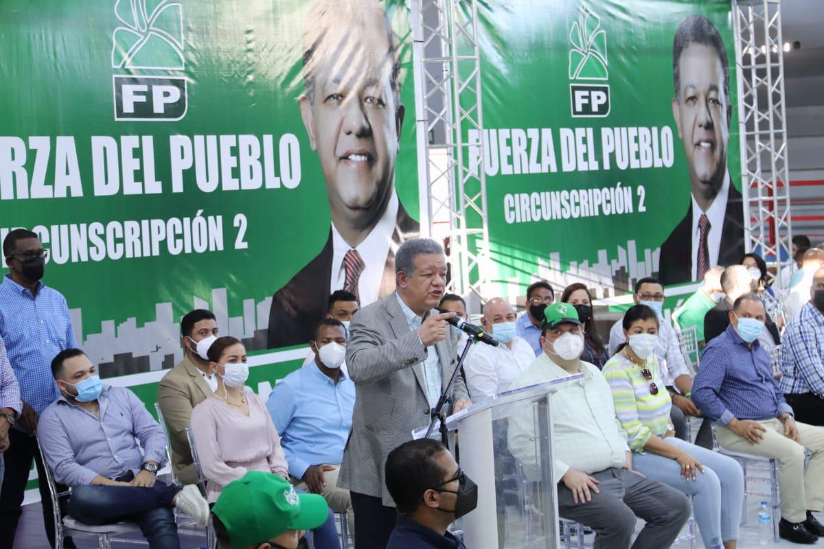 Leonel culmina de manera exitosa recorrido de tres días en Santiago