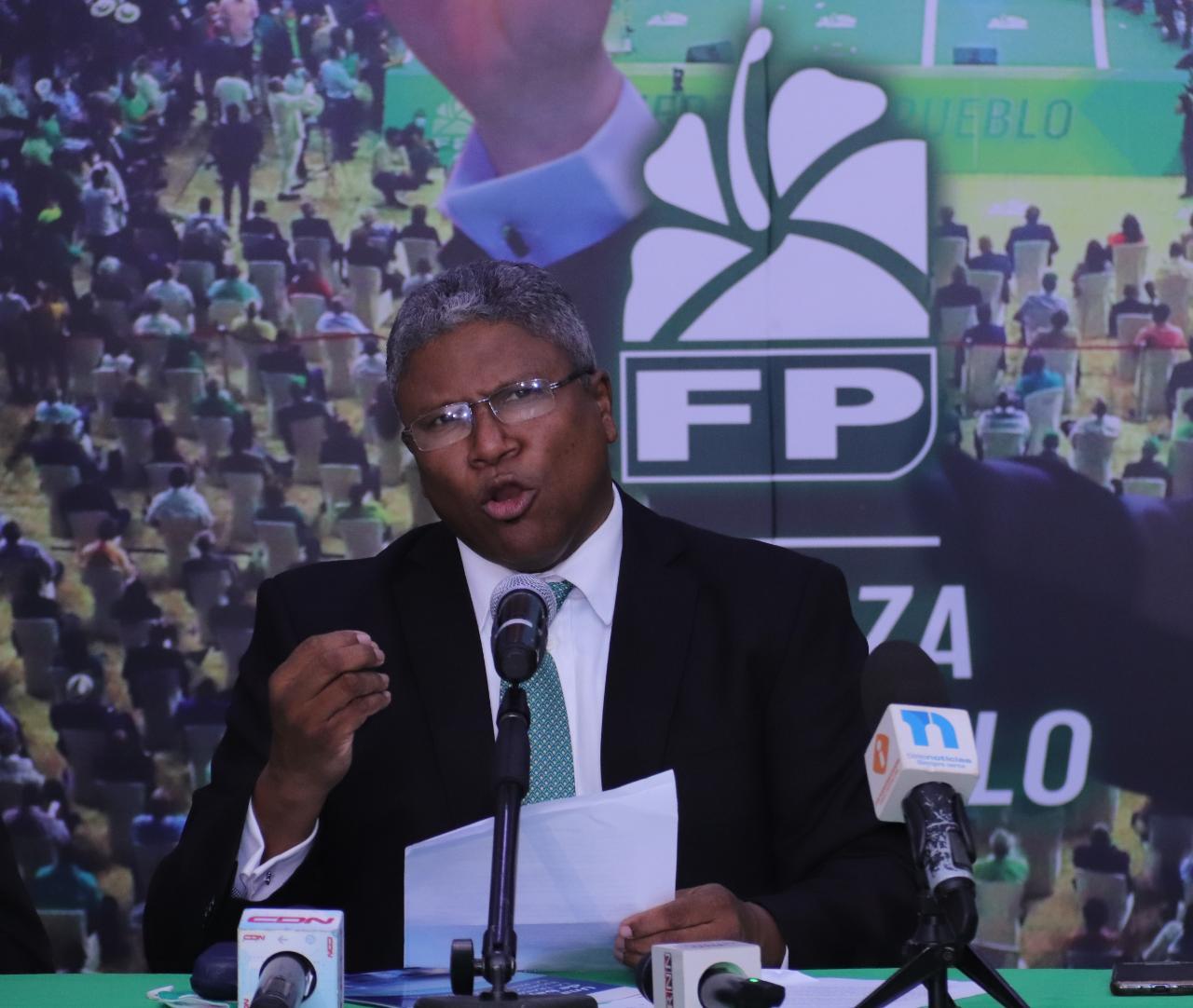 Fuerza del Pueblo pide aumento salarial inaplazable para los trabajadores